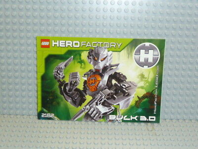 LEGO® Hero Factory Bauanleitung 2182 Bulk 3.0 ungelocht instruction B291