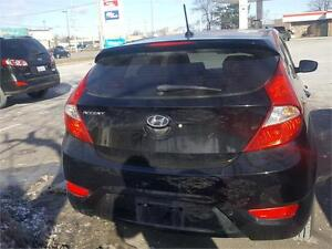 2012 HYUNDAI ACCENT With clean Carproof..FACTORY HYUNDAI WARRANT
