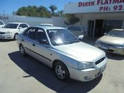 2001 Hyundai Accent LC GL Silver 4 Speed Automatic Sedan Bayswater Bayswater Area Preview
