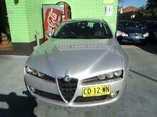 2008 Alfa Romeo 159 2.2 JTS Silver 6 Speed Automatic Selespeed Sedan Burwood Burwood Area Preview