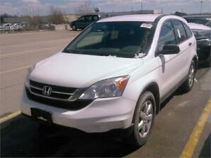 2010 Honda CR-V LX-ALL WHEEL DRIVE-1 OWNER-NO ACCIDENTS-CERTIFIE