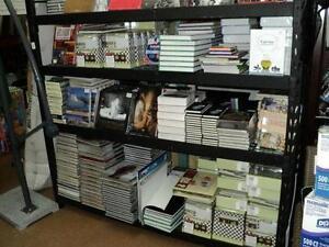 Choix de livres NEUF 40% rabais