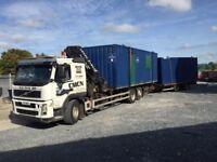 Hiab / Truck mounted crane hire
