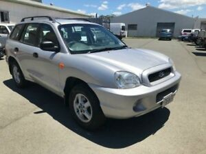2003 Hyundai Santa Fe GL (4x4) Silver 4 Speed Automatic Wagon Southport Gold Coast City Preview