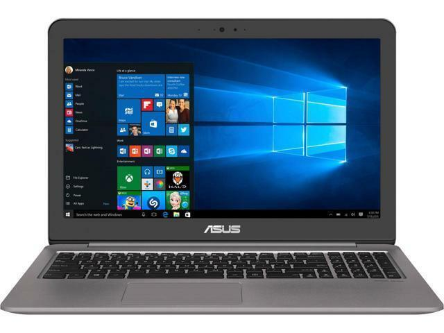 "ASUS Zenbook UX510UX-NH74 15.6"" Intel Core i7 7th Gen 7500U (2.70 GHz) NVIDIA Ge"