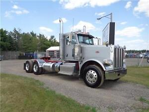 2013 PETERBILT 388 HEAVY SPEC DAYCAB, SUPER 40000 REARS