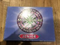 JUNIOR Kid's Who Wants To Be A Millionaire Game