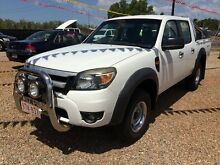 2010 Ford Ranger PK XL Crew Cab Hi-Rider White 5 Speed Automatic Utility Holtze Litchfield Area Preview