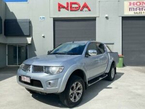 2014 Mitsubishi Triton MN MY14 Update GLX-R (4x4) Silver 5 Speed Manual 4x4 Double Cab Utility Burleigh Heads Gold Coast South Preview
