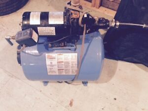 Jet Pump and Water Tank