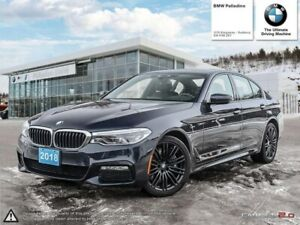 2018 BMW 5 Series 540i xDrive / Premuim PKG /Full Warranty