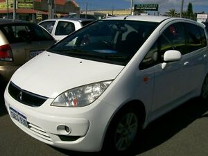 2009 Mitsubishi Colt VRX SPORT White Manual Hatchback Wangara Wanneroo Area Preview