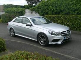 Mercedes-Benz E220 2.1CDI AMG SPORT 2014 (64) 7G-Tronic Plus 73,000 MILES F/S/H
