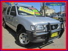2002 Holden Rodeo TFR9 MY02 LX Silver 5 Speed Manual Crewcab Canada Bay Canada Bay Area Preview