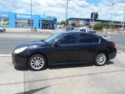 2011 Subaru Liberty B5 MY11 2.5i Lineartronic AWD Black 6 Speed Constant Variable Sedan Fyshwick South Canberra Preview