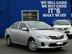 2013 Toyota Corolla ZRE152R Ascent Silver 4 Speed Automatic Sedan Welshpool Canning Area Preview