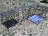 2 Metal Cages each Collapsible with 2 doors - Heathrow