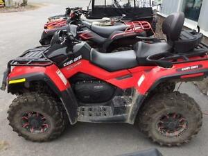 2012 Can Am Outlander 650 max xt