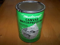 Big Sealed Can of Waterproofing for Canvas Tents, Bags & Awnings