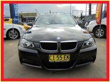 2007 BMW 320i E90 Black 6 Speed Automatic Sedan Holroyd Parramatta Area Preview