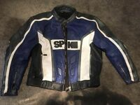 Men's leather MotorBike Jacket. Euro Size 58 (XXL)