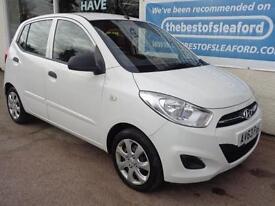 Hyundai i10 1.2 ( 85bhp ) 2013 Classic Full Dealer S/H Low miles 28k P/X