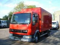 2006 (06) DAF TRUCKS FA LF45.130 BOX VAN WITH FULL SIZE TAIL LIFT