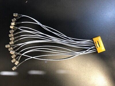 Hubersuhner Rf Cable Multiflex Mf53 Mxp50 To Smam 2x8 Sma Connectors 40ghz