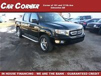 2009 Honda Ridgeline VP Leather Sunroof $139 B/W!!
