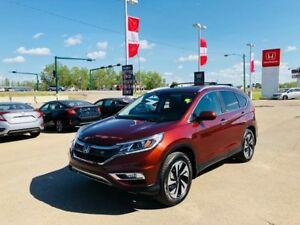 2015 Honda CR-V Touring- 7 YR 130,000KM Warranty, 2 Sets of Tire