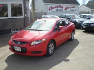 2012 Honda Civic Cpe LX Coupe