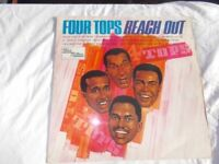 Vinyl LP Reach Out – Four Tops Tamla Motown TML 11056 Mono 1967