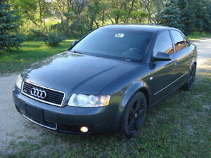 2004 Audi A4 Quattro 1.8L turbo safety with DVD