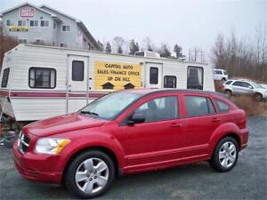 ONLY $45 WEEKLY FOR 2009 Dodge Caliber SXT NEW MVI, LOW MILEAGE
