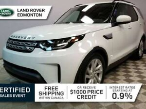 2017 Land Rover Discovery DIESEL - 7 Seats - manufacturer warran