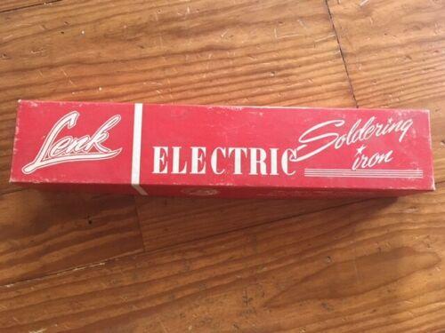 Vintage LENK Soldering Iron Model 750 150 Watts w/ Box WORKS