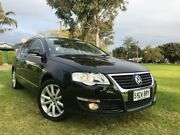 2008 Volkswagen Passat Type 3C MY08 TDI DSG Black 6 Speed Sports Automatic Dual Clutch Wagon Somerton Park Holdfast Bay Preview