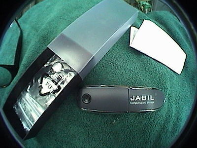 Jabil Flash Drive With Laser Pointer Comes With Batteries  Instructions In Box