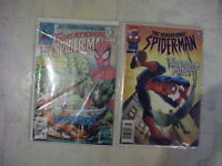 for sale about 40 comic books 2 special spiderman vol 1-no1&17