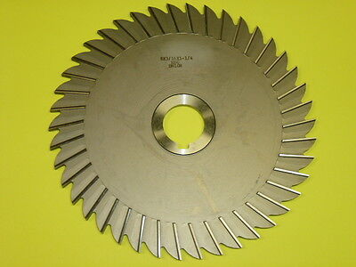 Nos Butterfield Hsg Slitting Saw Blade 8 X 316 X 1-14 42t W Slot