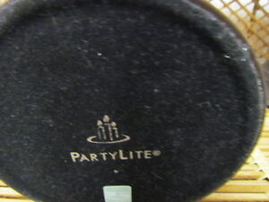 TWO PARTY LITE GLOBAL CANDLE HOLDERS price lowered Edmonton Edmonton Area image 2