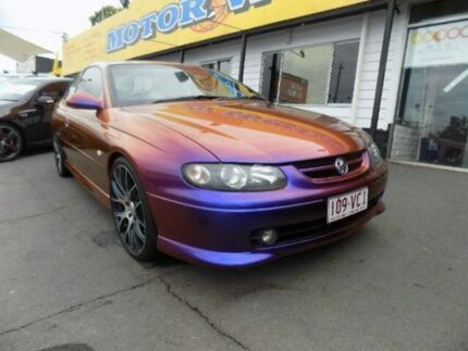2003 Holden Monaro V2 Series II CV8 Chameleon Blue 4 Speed Automatic Coupe Moorooka Brisbane South West Preview