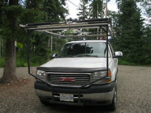 boat loader and truck frame