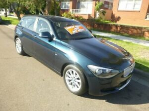 2014 BMW 1 Series F20 MY0314 116i Steptronic Blue 8 Speed Sports Automatic Hatchback Merrylands Parramatta Area Preview