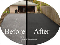 DRIVEWAY SEALING FOR LESS