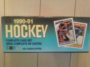 1990-91 O-Pee-Chee factory and Red Army hockey card sets