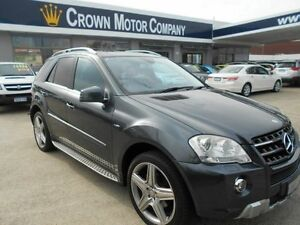 2010 Mercedes-Benz ML W164 09 Upgrade 350 CDI Sports Luxury (4x4) Grey 7 Speed Automatic G-Tronic Victoria Park Victoria Park Area Preview