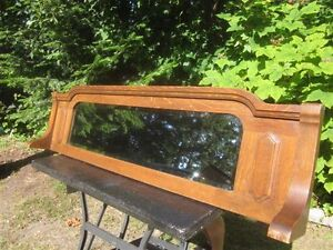 Antique Buffet Mirror - Quarter Sawn Oak