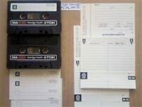 2x TDK MA C60 60 METAL TYPE 4 IV GUARANTEED CASSETTE TAPES 1979-81 W/ CARDS CASES LAB's & FREE P&P