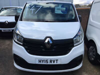 BUY ME FOR £44 PER WEEK 2015 Renault Trafic 1.6dCi 115 Business+ ****SAT NAV***